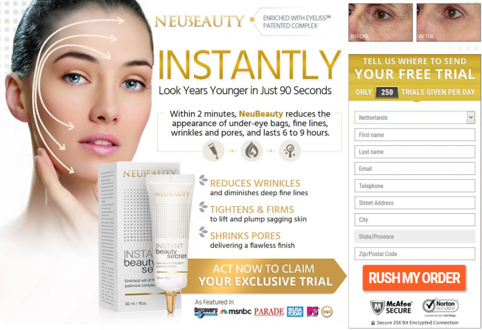 NeuBeauty Instant Beauty Secret